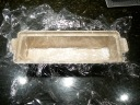 Plastic lined terrine mold